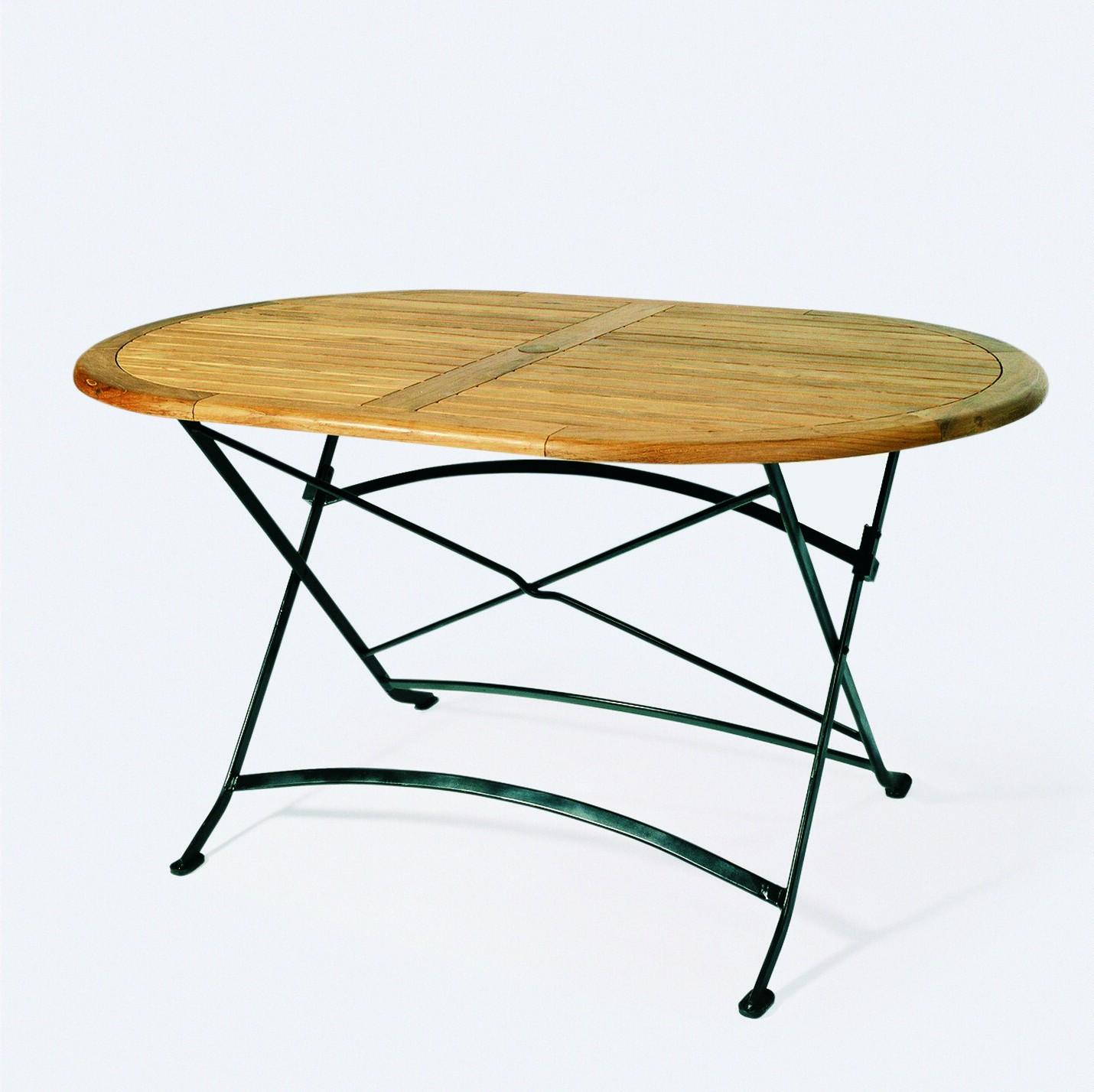 garten klapptisch teak oval teak esstische rund und ausziehbar. Black Bedroom Furniture Sets. Home Design Ideas