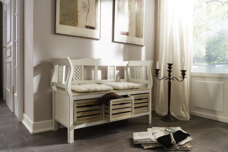 dielenbank charleston esstische rund. Black Bedroom Furniture Sets. Home Design Ideas