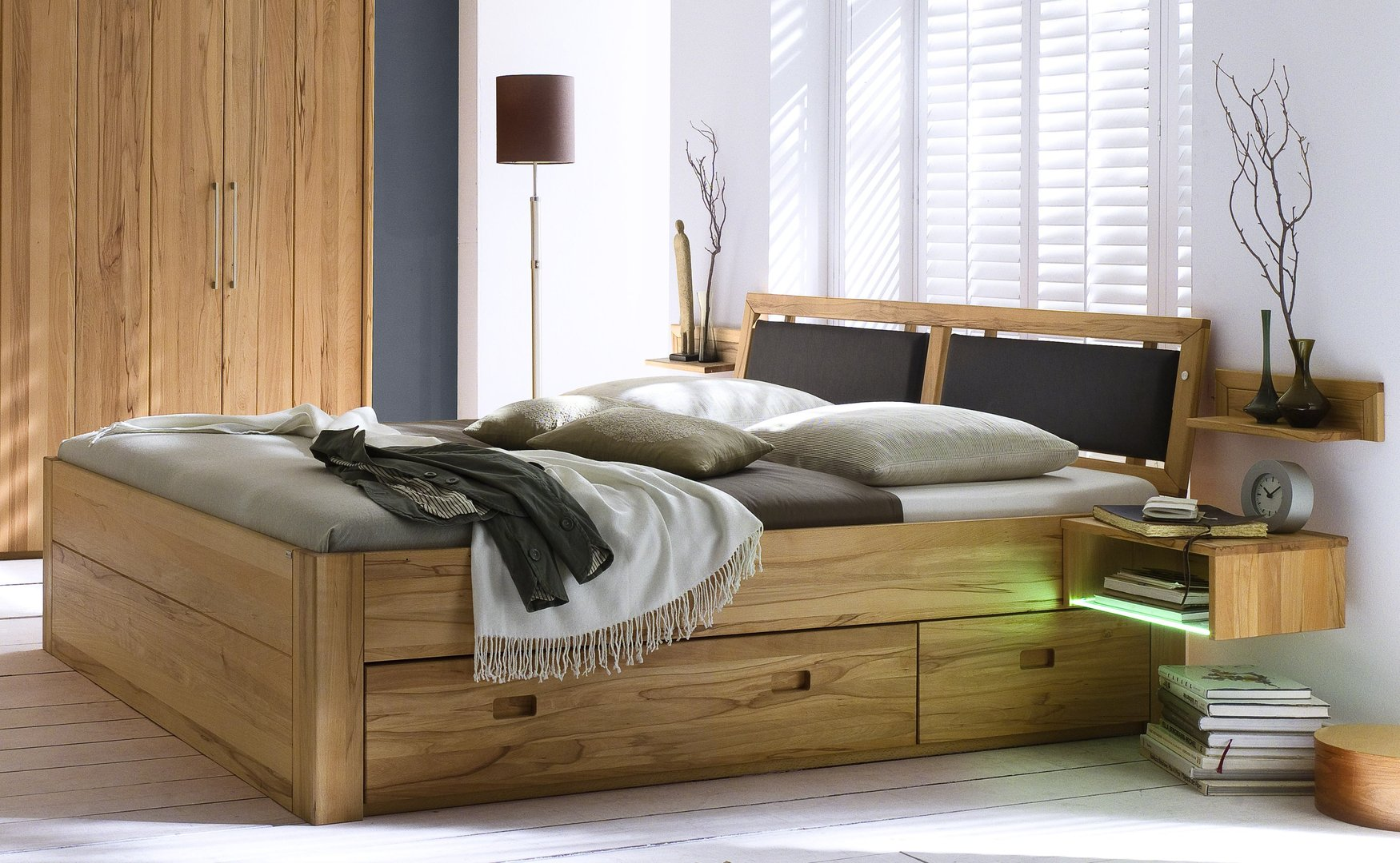 betten casa innatura massivholzm bel online shop. Black Bedroom Furniture Sets. Home Design Ideas