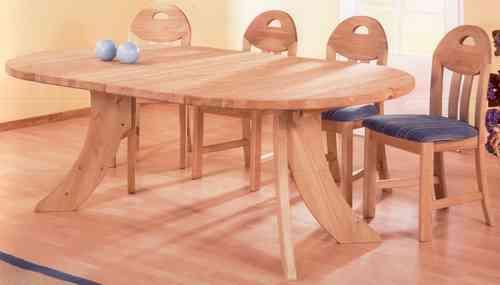 Esstisch rund durchmesser 120 cm abb laugenfarbig for Esstisch rund 120