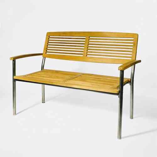 gartenbank 125cm teak esstische rund und ausziehbar. Black Bedroom Furniture Sets. Home Design Ideas