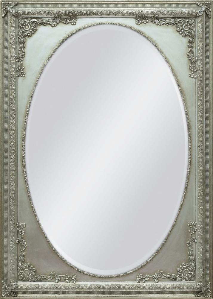 Spiegel oval mit Rahmen - casainnatura.de - Esstische, rund und ...